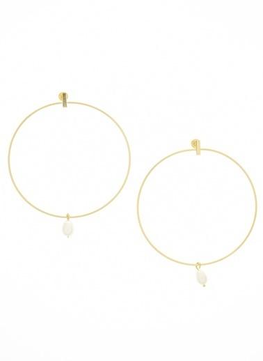 Anar Jewelry Küpe Sarı